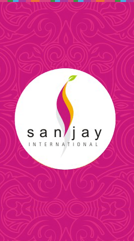 Sanjay International Splash Page