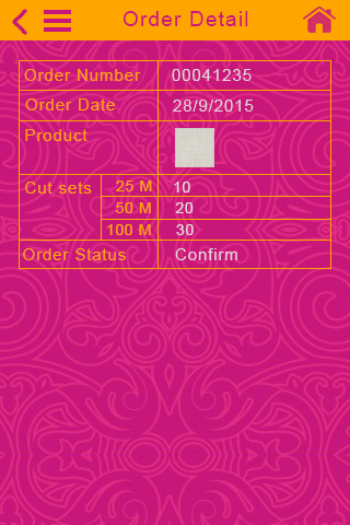 Sanjay International Order Detail Page
